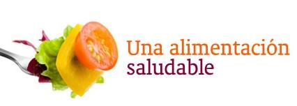 una alimentación saludable frutas
