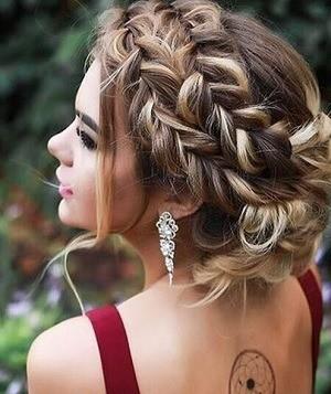 Peinados Con Trenzas Sencillos Y Para Cualquier Ocasion - Peinados-con-tranzas