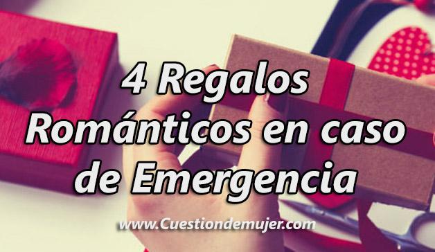 4 regalos romanticos de emergencia