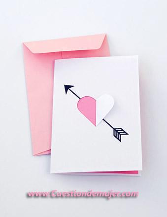 carta de sentimiento tarjeta