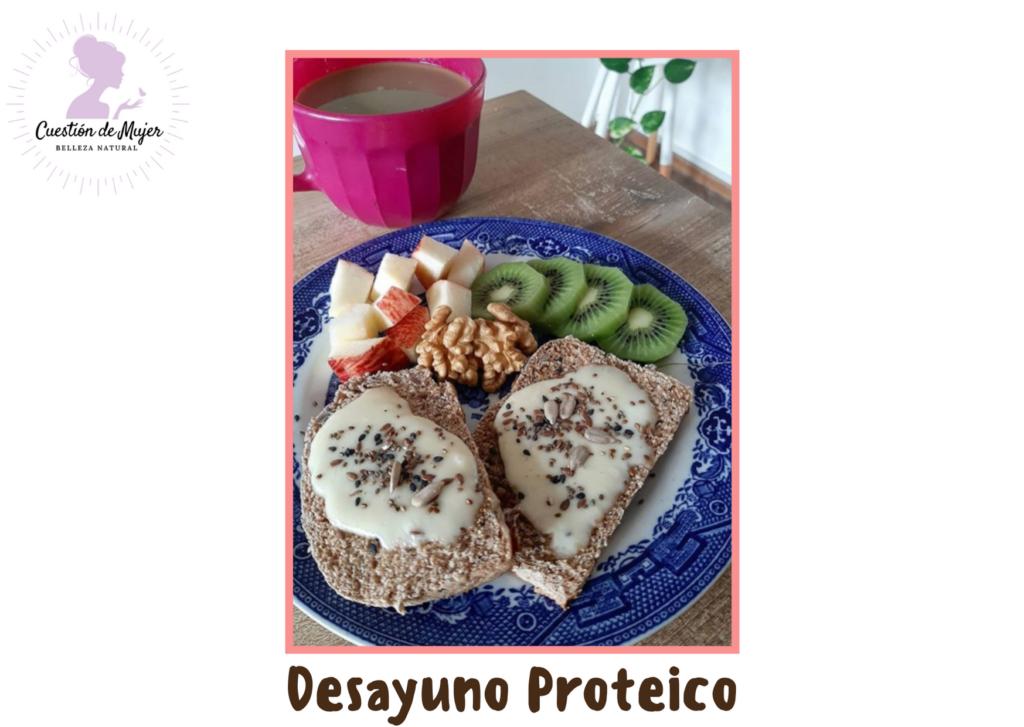 desayuno proteico salado