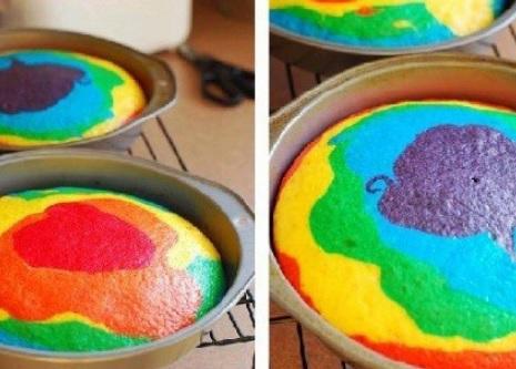 Torta-de-colores-para-los-mas-chicos-3-colorante-vegetal-bizcochuelo